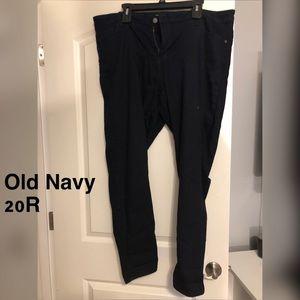 Old Navy Dark Denim Rockstar Jeans